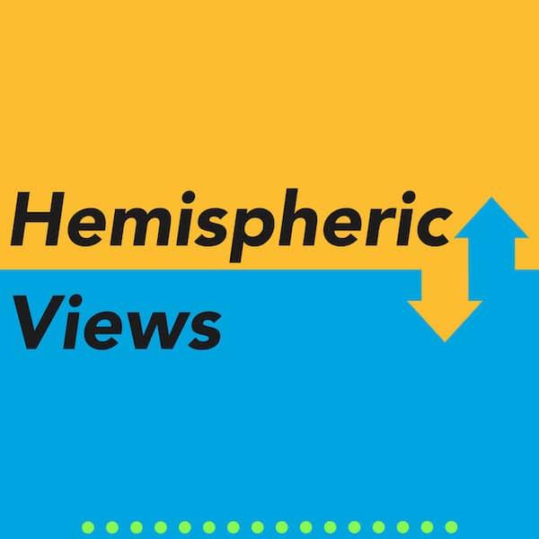 Logo des Hemispheric-Views-Podcasts.